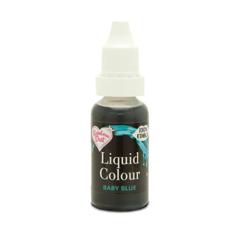 Rainbow Dust Colour Flo Airbrush Baby Blue